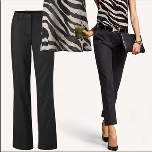 CAbi Go To Black Cropped Trouser Pants Style 5078